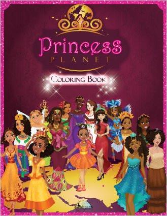 PRINCESS PLANET: COLORING BOOK