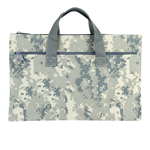 Camouflage Document Bag