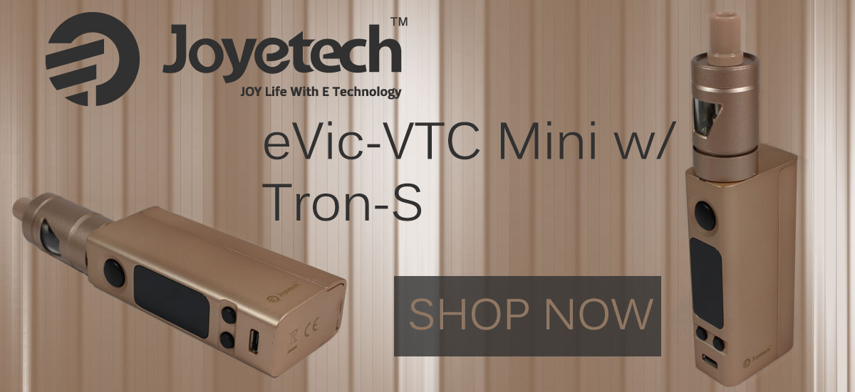 Gold Tron eVic-VTC Mini