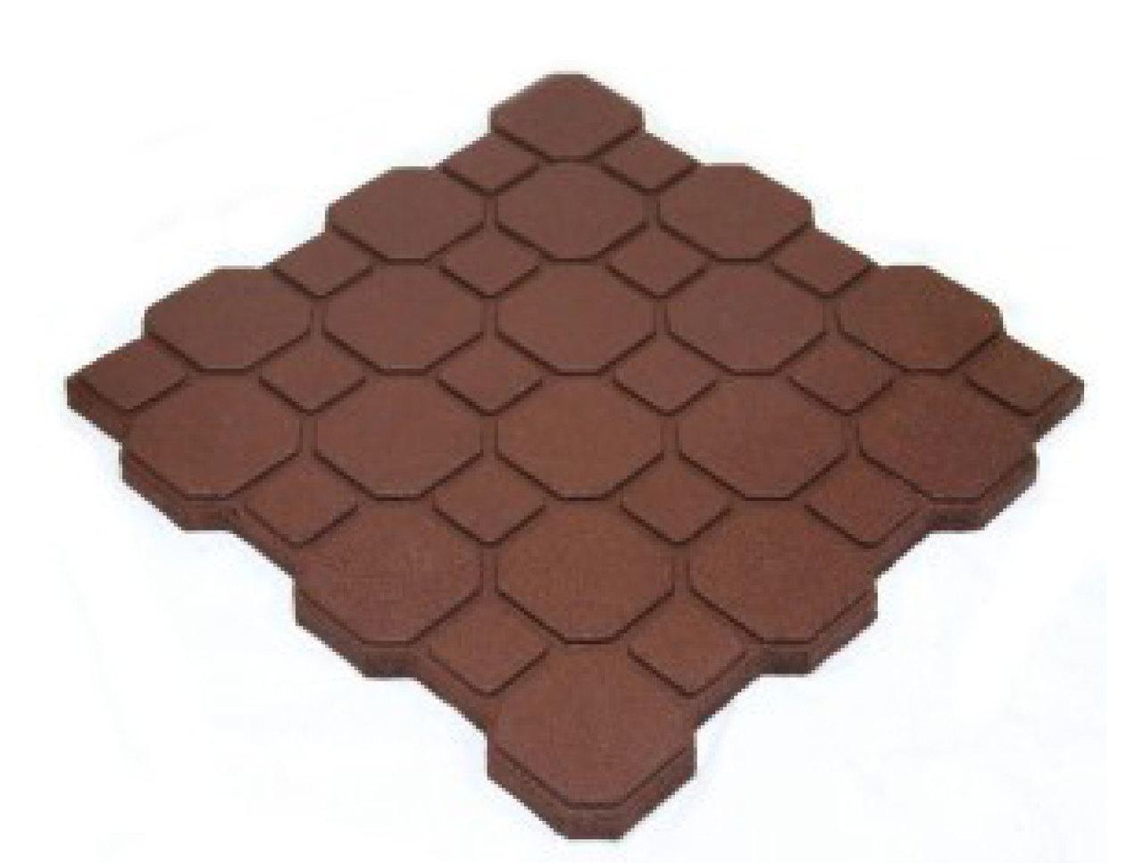 Cobblestone Rubber Tiles