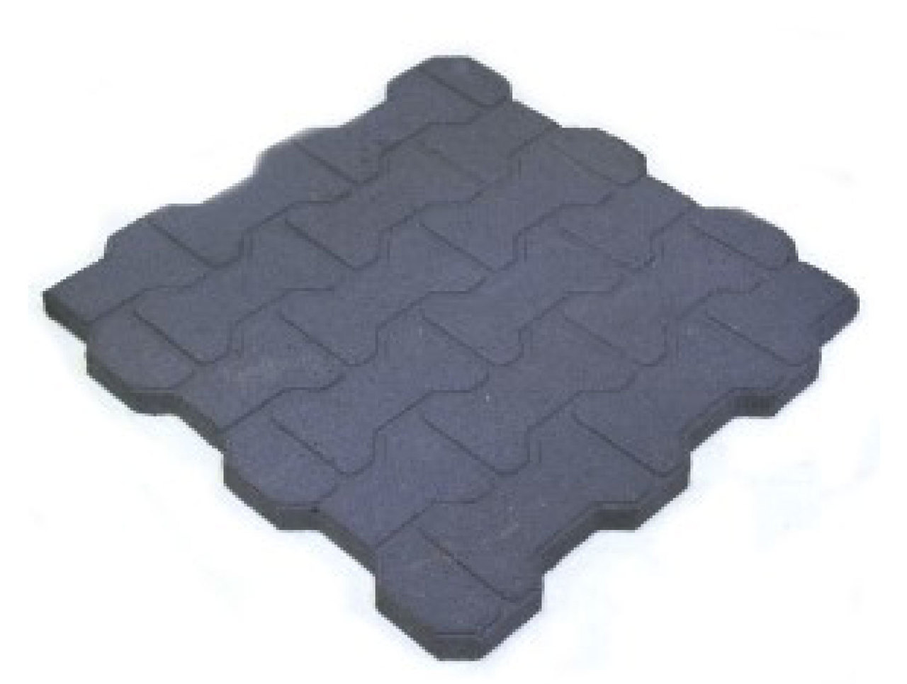 Dogbone Rubber Tiles