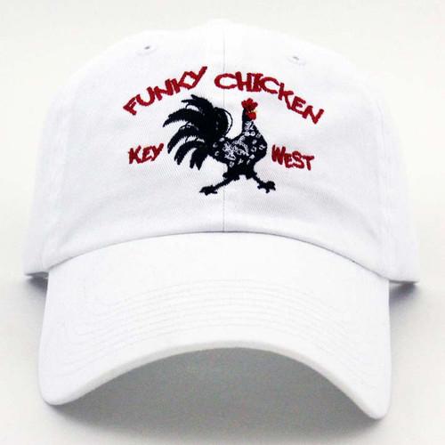 GL Funky Chicken Logo Cap White