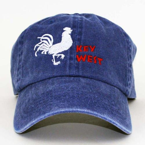 GL KW Roost Cap Cornfl Blue/WR Red L