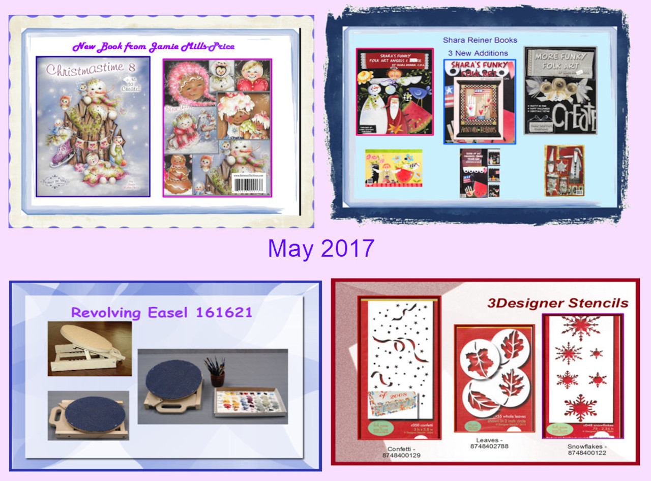 May 2017 - The Old and The New!!!