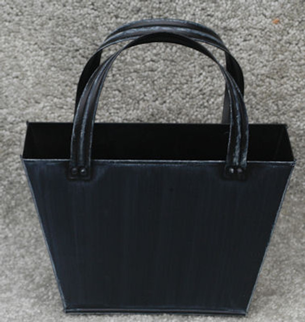 Metal - Purse, Black Antique Metal