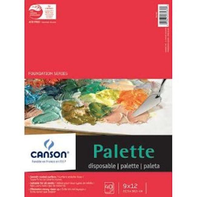 Canson Disposable Palette (40 Sheet Pad)