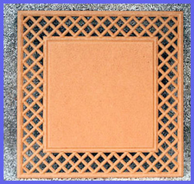 LW - Square Lattice Frame Plaque (1100)