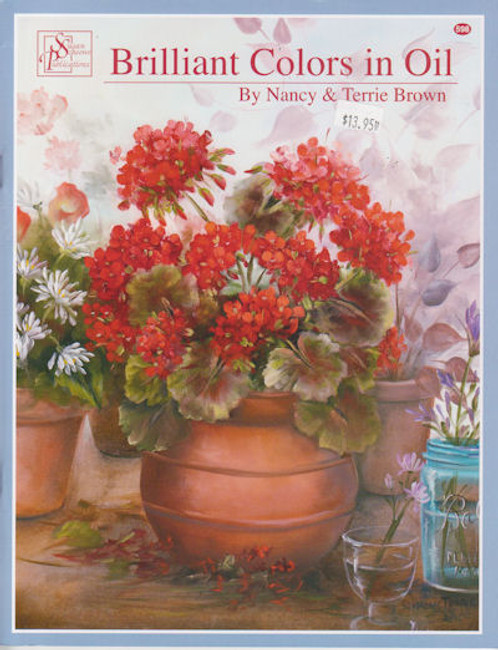 Book - Brilliant Colors in Oil by Nancy and Terrie Brown (3658800598)