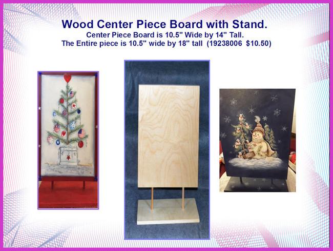 Wood -Center Piece Board  (19238006)