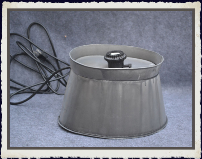 "Metal -  Lamp Base  with Cord and Socket  10' x 7"" x 5.5"" (TLA74389)"