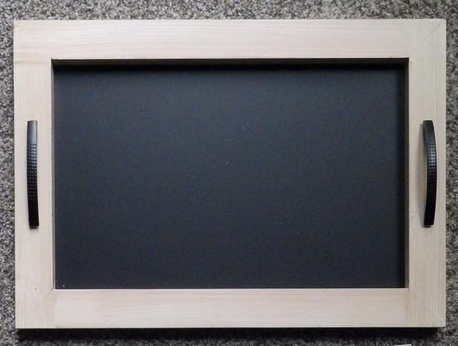 Wood- Chalkboard Tray (TWA64474)
