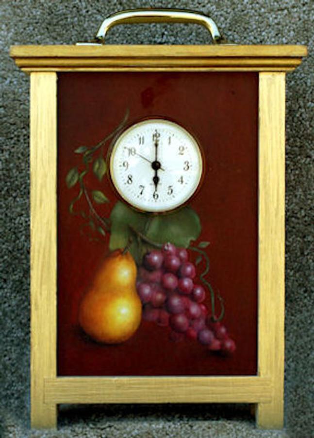 Wood - Clock, Carriage
