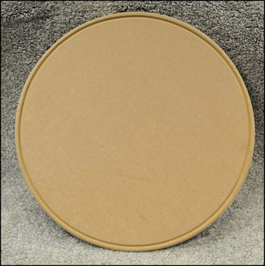 "LW - Plate, 16"" Round with Groove (1923072-16)"