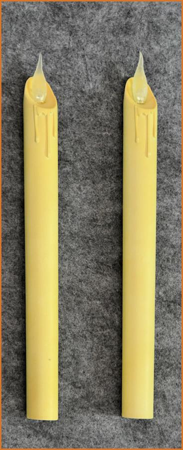 "Candles - Set 2 10"" Flameless Dinner Candles (873417)"