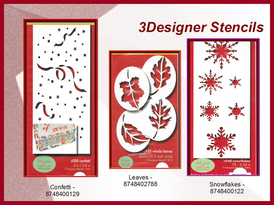 Specialty Stencils -2  (87484XXXXX)