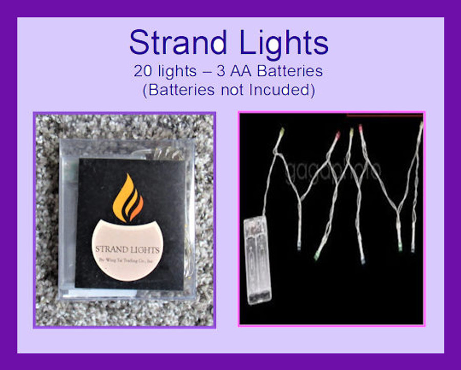 DA - 20 Strand Lights Battery Operated (TLX76030-20T)