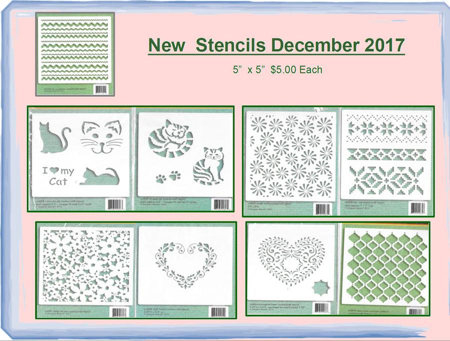 Stencils - New December 2017 (STXXX)
