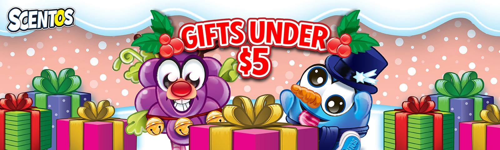 Gifts Under $5