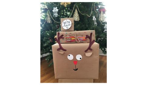 DIY Holiday Gift Wrap Ideas!