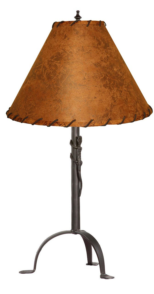Gecko Iron Table Lamp