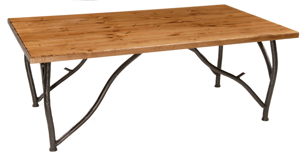 Woodland Iron Coffee Cocktail Table