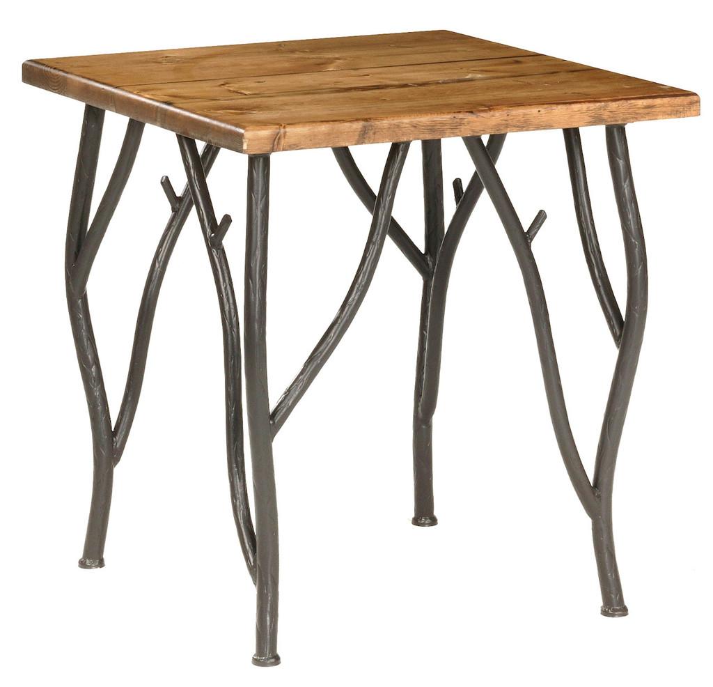 Woodland Iron Side Table