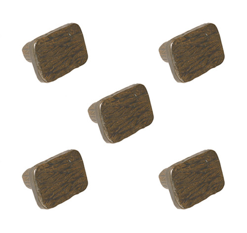 Cedarvale Iron Drawer Knob- 5 Piece Set