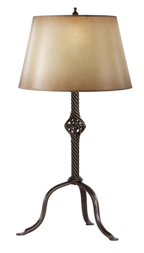 Folsom Knot Iron Table Lamp