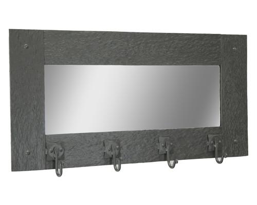Cedarvale Wall Mirror Coat Rack