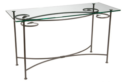 Leaf Console   Iron Sofa Table