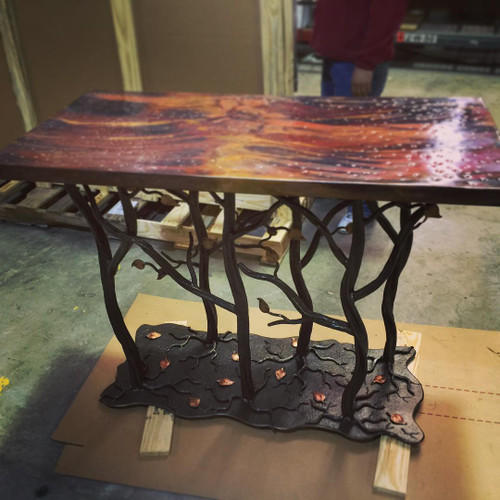 Custom Enchanted Forest Table