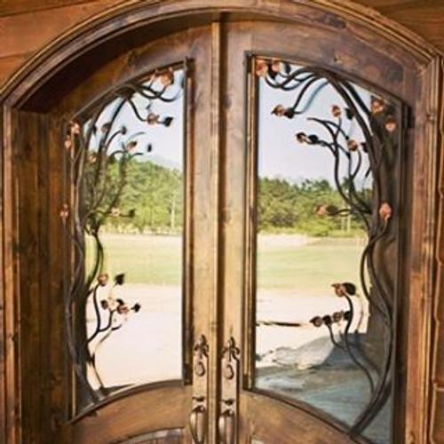 Custom Forged Iron Door Grates