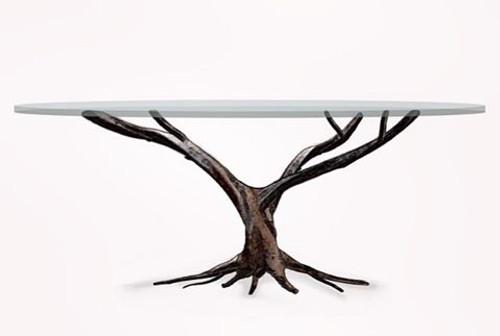 Custom Iron Branch Table