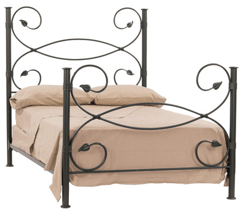 Leaf Iron King Bed