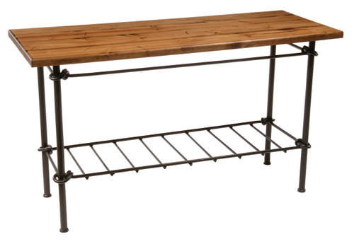 Knot Iron Console Sofa Table