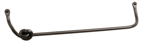 Knot Iron Towel Bar 24 Inch
