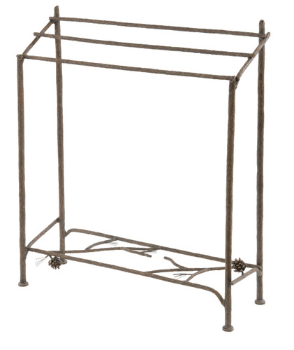 Pine Iron Blanket or Towel Stand