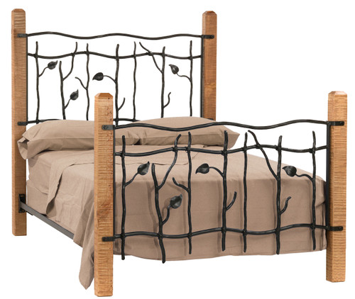 Sassafras Queen Iron Bed