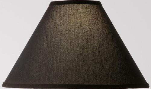 Natural Black Linen Floor Lamp Shade 18 inch
