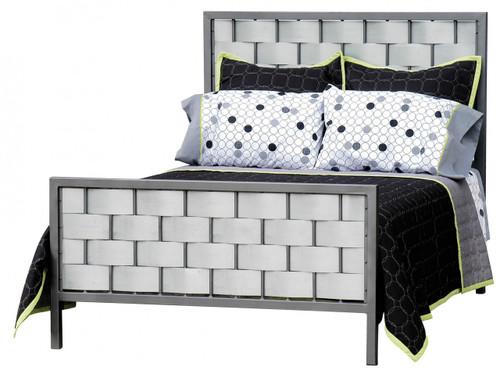 Rushton King Iron Bed Galvanized