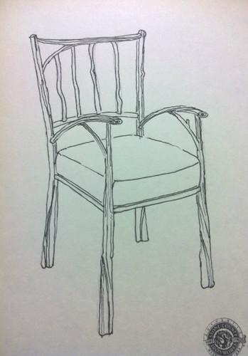 Custom Branch Chair