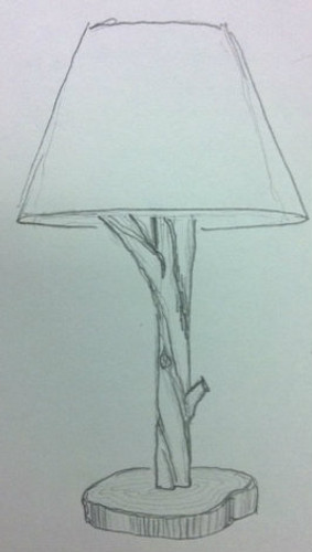 Custom Branch Lamp