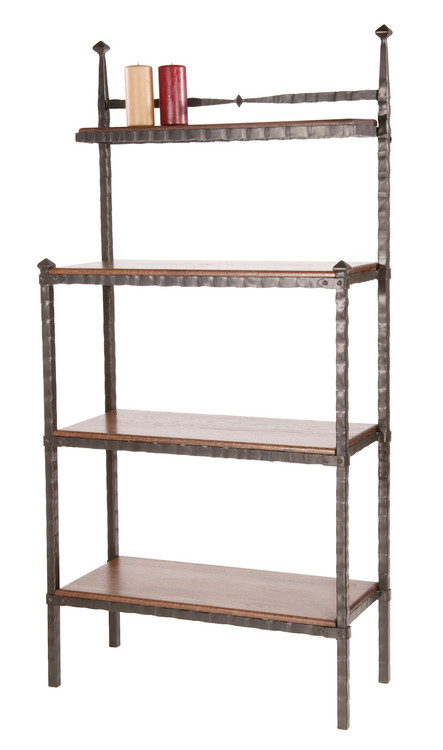Forest Hill Hand Forged Iron Bakers Rack