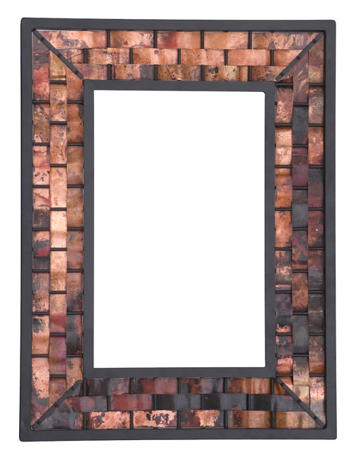 Rushton Hand Forged Iron Wall Mirror