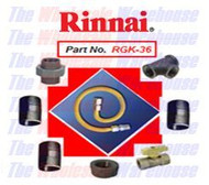 Rinnai RGK-36 Gas Line Installation Kit