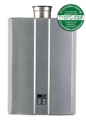 Rinnai RU80iP Interior Propane Condensing Tankless Water Heater