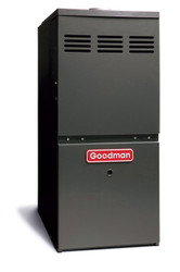 Goodman GMH80805CN Gas Furnace 80,000 BTU Furnace, 80% Efficient, 2-Stage Burner, 2,000 CFM Multi-Speed Blower, Upflow / Horizontal Flow