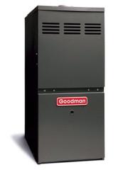 Goodman GMH80805CN Gas Furnace 80,000 BTU Furnace, 80% Efficient, 2-Stage Burner, 2,000 CFM Multi-Speed Blower, Upflow / Horizontal Flow