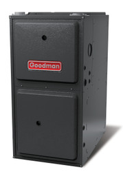 Goodman GMEC960803CN Gas Furnace 80,000 BTU Furnace, 96% Efficient, Two-Stage Burner, 1,200 CFM 5-Speed ECM Blower, Upflow / Horizontal Flow