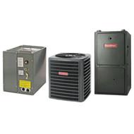 Goodman 80% 120,000 BTU Gas Furnace and 5 ton 14 SEER AC System